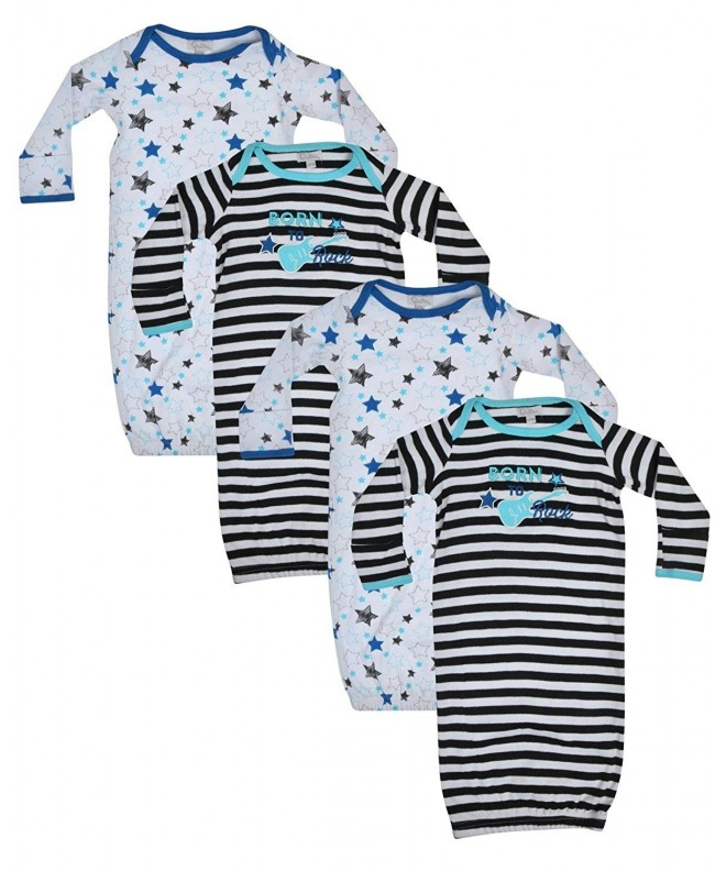 Quiltex Boys Toddler Sleeper Gowns