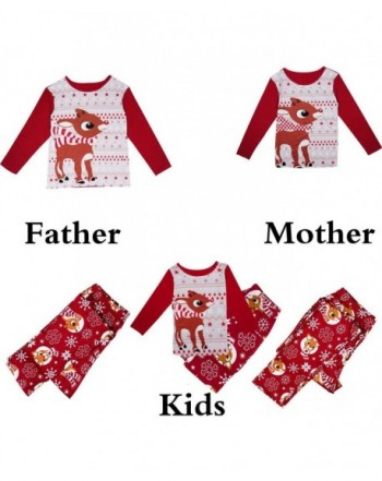 Christmas Pajamas Parent Child Sleepwear Nightwear