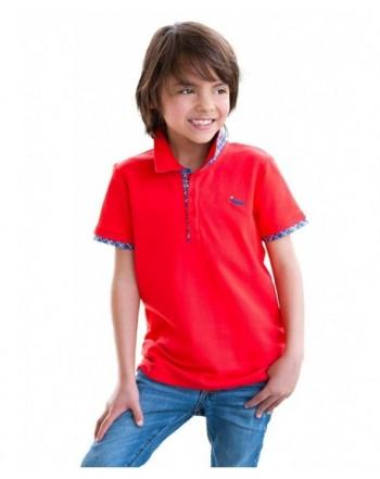 Dakomoda Toddler Boys Polo Shirt