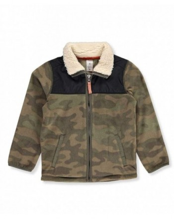 Carters Sleeve Sherpa Collar Jacket