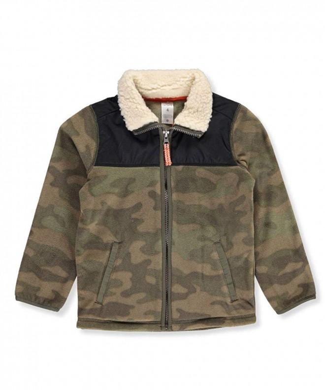 Carters Sleeve Sherpa Collar Jacket
