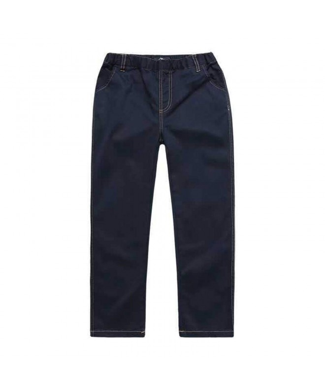 Cneokry Khaki Elastic Uniform Trousers