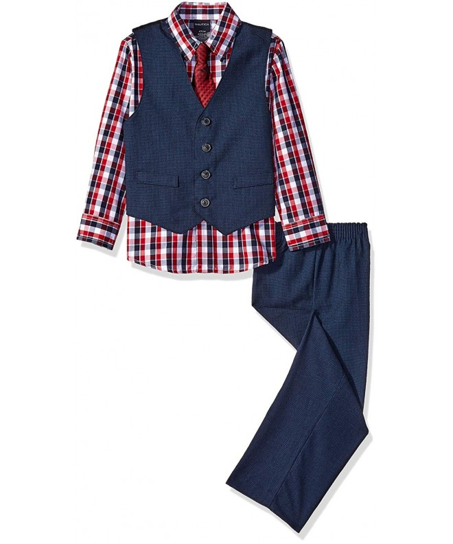Nautica Little Four Piece Hounds Tooth