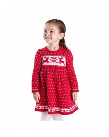 Toddler Christmas Reindeer Snowflake Sweater