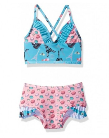 Jelly the Pug Girls Amelia Bikini with Shorts