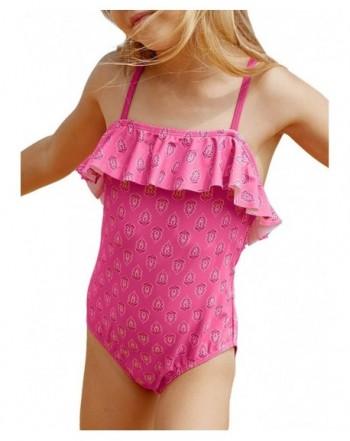 Aleumdr Swimsuits Ruffle Bathing Beachwear