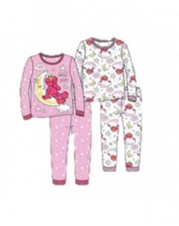 Toddler 4 Piece Cotton Pajama Tonight