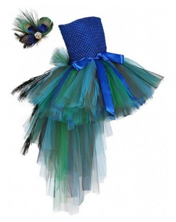 Tutu Dreams Peacock Feather Pageant