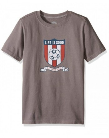 Life Good Boys Soccer Crest