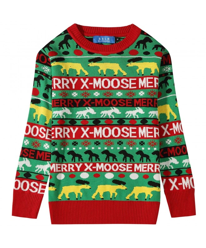 SSLR Holiday Pullover Christmas Sweater