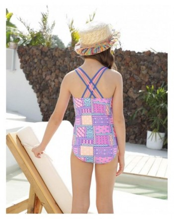 864b7e32bd3 Available. LEINASEN Swimsuits Crossback Pattern Printing; Cheapest Girls'  One-Pieces ...