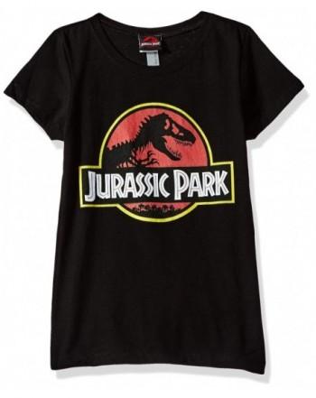 Jurassic Park Girls Logo Graphic