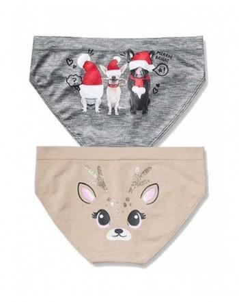 Justice Seamless Bikini Panty 2 Count