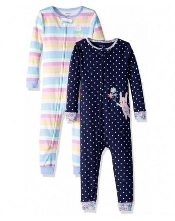 Carters Toddler 2 Pack Footless Pajamas