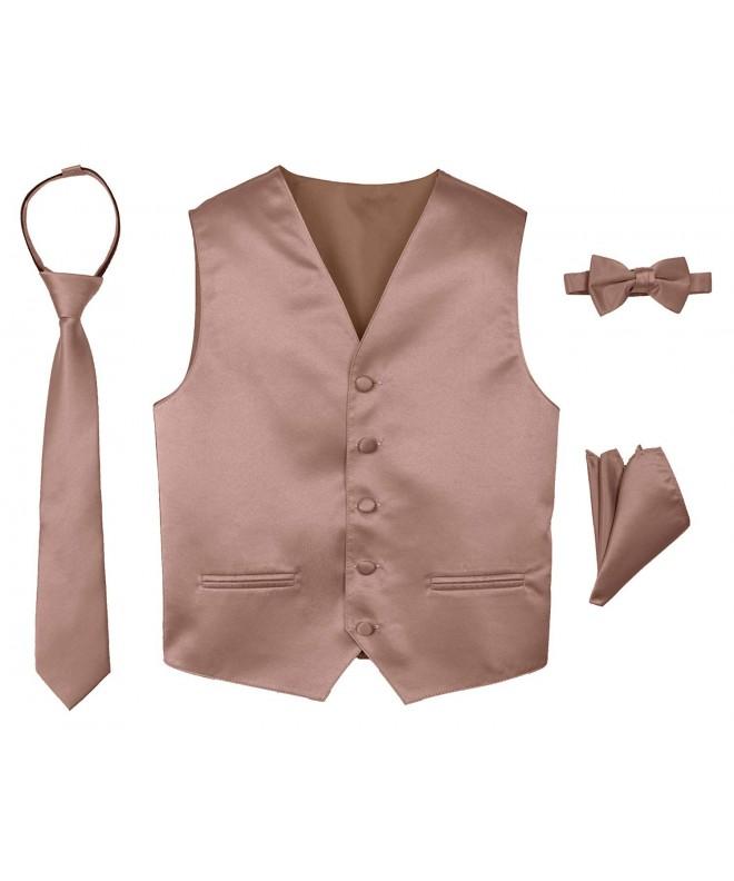 Spring Notion 4 Piece Satin Tuxedo