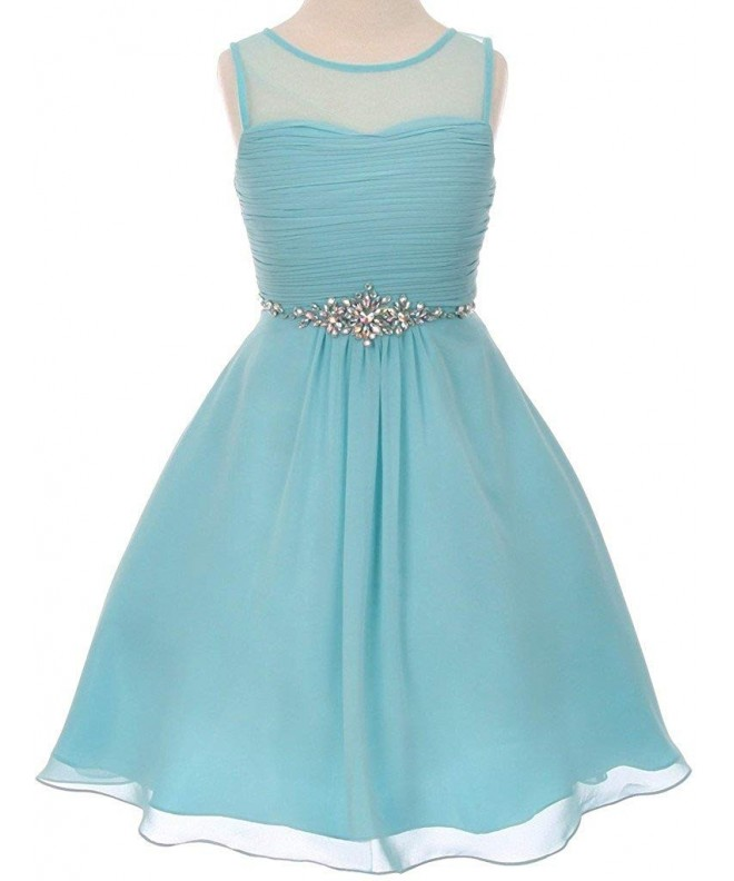 Rhinestone Easter Special Dresses Collection