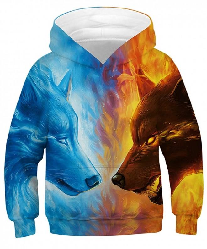 GLUDEAR Graphic Sweatshirts Pullover Hoodies