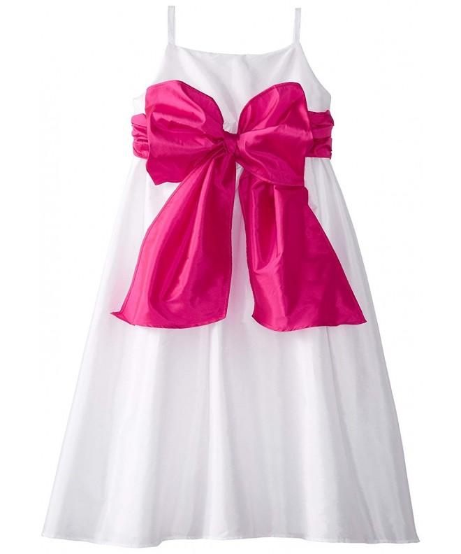 Angels Girls Empire Taffeta Dress