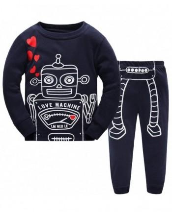 Schmoopy Boys Robot Pajamas Years