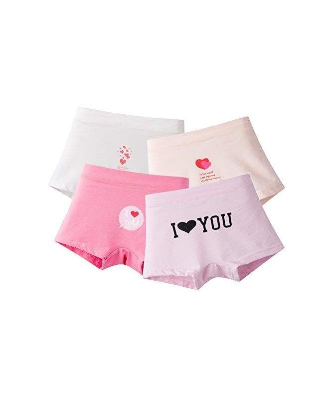 Young Girls Panties Girls Underwear Panty Models Love Heart Style Pack of 4  - CZ18H072COA