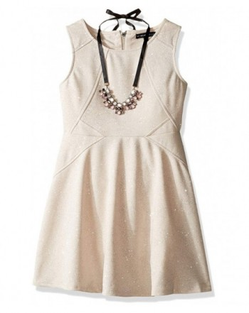 My Michelle Sleeveless Seaming Necklace