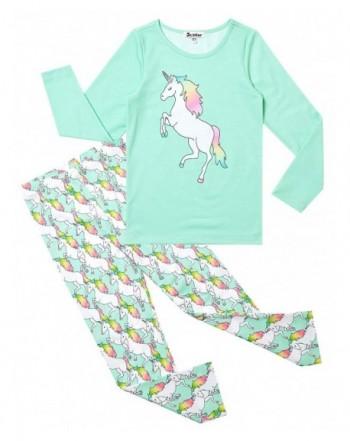 Pajamas Unicorn Little Cotton Sleepwear