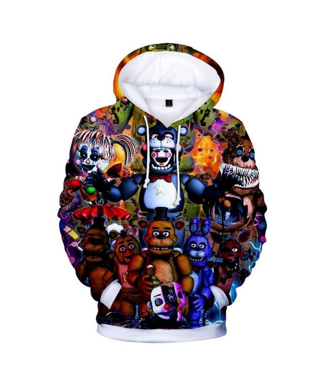 Nights Freddys Hoodie Hooded Sweatshirt