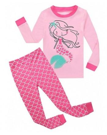 Mermaid Pajamas Childrens Clothes Christmas