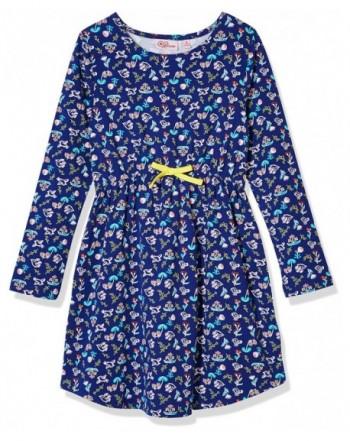 Awesome Girls Sleeve Jersey Dress