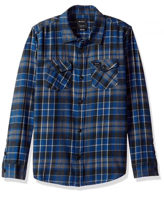 RVCA Flannel Sleeve Woven Shirt
