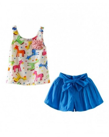 Trendy Girls' Short Sets